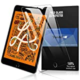 iPad mini 2019 mini 5 ガラスフィルム TopACE ipad mini5/mini 4 フィルム 高度透明 旭硝子9H 気泡防止 クラッチ防止 自動吸着 飛散防止処理 超薄0.3mm 2.5D 保護フィルム iPad mini 5 2019 対応(クリア)
