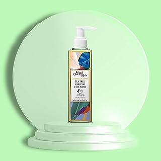 Mirah Belle - Tea Tree, Haritaki - Anti Acne - Natural Face Wash - Best for Acne, Blemishes, Dark Spots, Scars - Makes Ski...