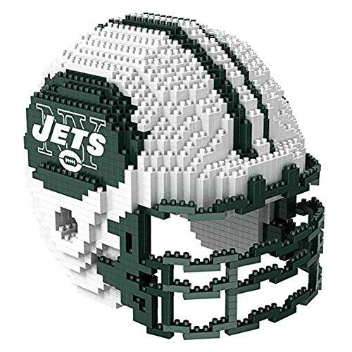 New York Jets 3D Helmet BRXLZ Puzzle