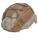 Xpccj Funda para casco rápido, modelo Multicam 5 tipos Nylon Militar Sport Gear Classic Style Camuflaje