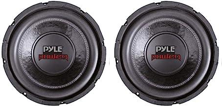 """2 PYLE PLPW6D 6"""" 1200W Dual Voice Coil 4-Ohm Black Car Stereo Audio Subwoofers"""