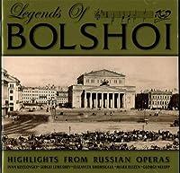 Bolshoi Theater Legens Of Bolshoi