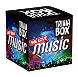 Imagination Card Games Trivia Box We Love Music Themed Trivia