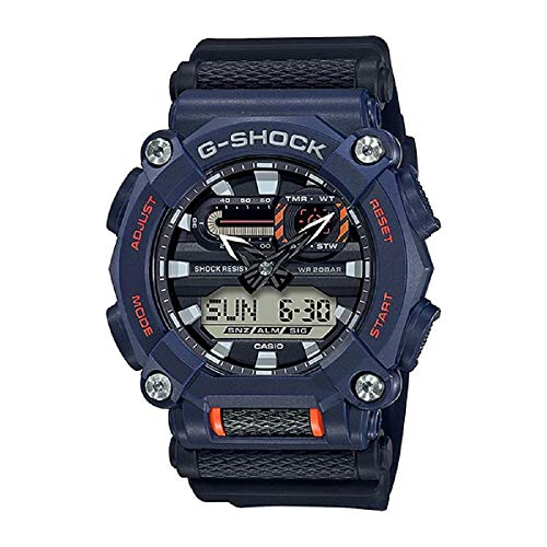 Relógio CASIO G-SHOCK masculino azul GA-900-2ADR