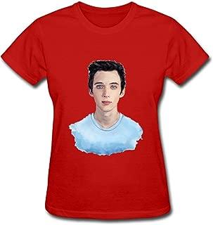 Duanfu Troye Sivan Women's Cotton Short Sleeve T-Shirt
