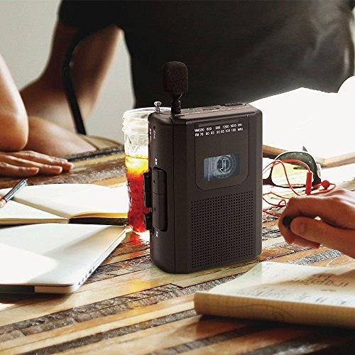 STAYER外付けマイク付AM/FMラジオカセットレコーダー(録音・再生)シルバーAD-PTCPASV
