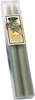 Root Candles Scented Hand-Dipped Taper 9-Inch Dinner Candles, 2-Count, Bayberry