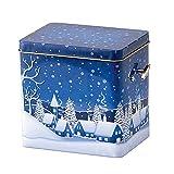 Weihnachtsmelodie: Sobald Sie das Spielwerk aufgezogen haben, erklingt eine liebliche Weihnachtsmelodie.