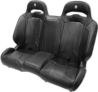 Pro Armor LE Suspension Bench UTV Complete Seat Black 2015-2020 Polaris RZR S4 XP 4 1000 Turbo S