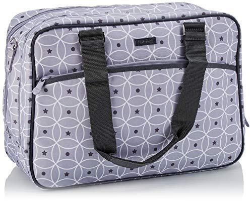 Tuc Tuc 04726 - Bolsa, cambiador, colgadores y bandolera, color gris