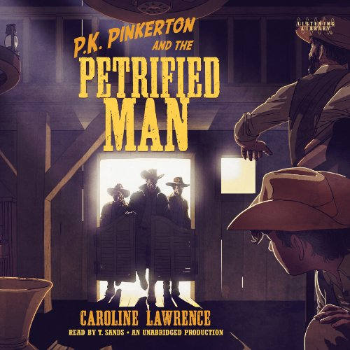 P.K. Pinkerton and the Petrified Man audiobook cover art