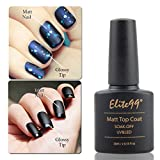 Elite99 Vernis à Ongles Top Coat Mat Semi Permanent 10ml UV LED Soak off