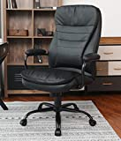 Amolife Office Chair/Heavy Duty Executive Computer Chair/Adjustable Desk Chair/Large Home Office Chair with Armrest/ BIFMA certification No 5.1