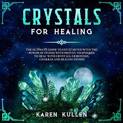 Page de couverture de Crystals for Healing