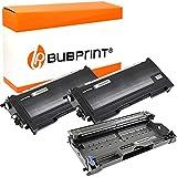 Bubprint 2 Toner und Trommel kompatibel für Brother TN-2000 DR-2000 für DCP-7010 DCP-7010L DCP-7025 HL-2020 HL-2030 HL-2040 HL-2070N MFC-7225N MFC-7420 MFC-7820 MFC-7820N Fax 2820 2920