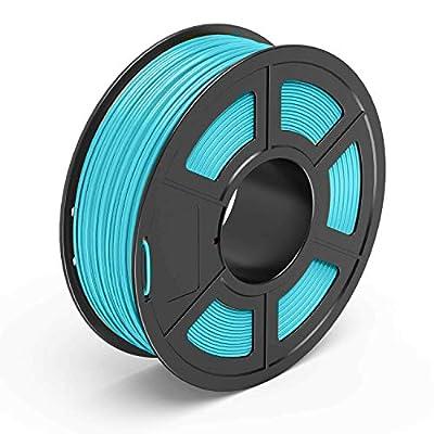 ABRUS® - PLA Filament, 3D Printing Filament 1.75mm, for 3D Printer 1KG Spool Various Colours (Turquoise)