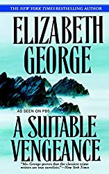Books Set in Cornwall: A Suitable Vengeance (Inspector Lynley #4) by Elizabeth George. Visit www.taleway.com to find books from around the world. cornwall books, cornish books, cornwall novels, cornwall literature, cornish literature, cornwall fiction, cornish fiction, cornish authors, best books set in cornwall, popular books set in cornwall, books about cornwall, cornwall reading challenge, cornwall reading list, cornwall books to read, books to read before going to cornwall, novels set in cornwall, books to read about cornwall, cornwall packing list, cornwall travel, cornwall history, cornwall travel books