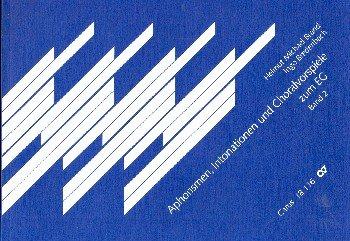 Aphorismen, Intonationen und Choralvorspiele zum EG II. Sammlung