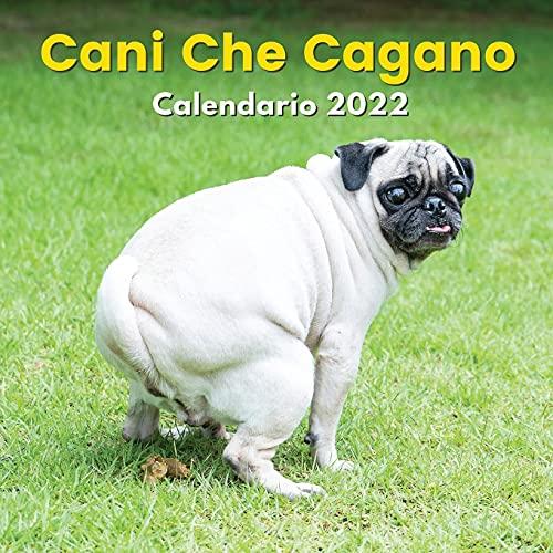 Cani Che Cagano Calendario 2022: Regali Divertenti   Per Amanti Dei Cani, Uomo, Donna,...