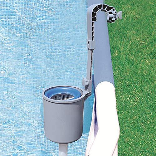 N/H Skimmer automático de Montaje en Pared, Skimmer de Piscina sobre el Suelo de la Piscina, Skimmer de Superficie Skimmer automático para Limpieza de Piscinas