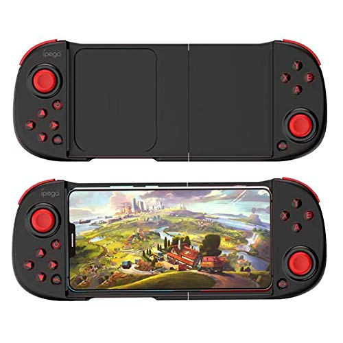 Mobile Game Controller/Gamepad Wireless Gamepad Game Controller for Various Sizes Smart Phones with Android 6.0 and iOS 11- iOS13, Compatible with Devices from 5 to 10 inches