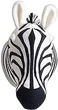 3D Cartoon Animals Head Wall Mount Elephant Hippo Zebra Lion Giraffe Wall Decor For Kids Bedroom Gifts For Girls Boys