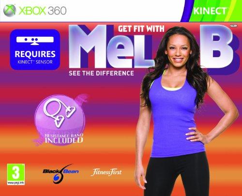 Get Fit with Mel B plus Resistance Band (Xbox 360) [Edizione: Regno Unito]