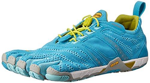 Vibram FiveFingers Damen KMD Evo Outdoor Fitnessschuhe, Mehrfarbig (Light blue/grey/yellow), 38 EU