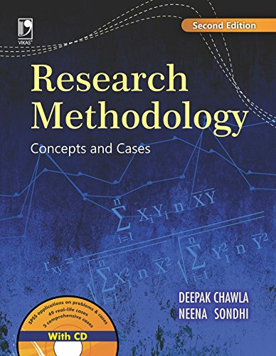 Research Methodology: Concepts and Cases: Concepts & Cases