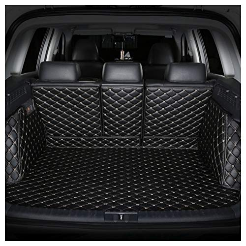 Emblem Trading 3D Kofferraumschutz Kofferraummatte Passend Für A Klasse W176 AMG Leder Schwarz Faden Beige