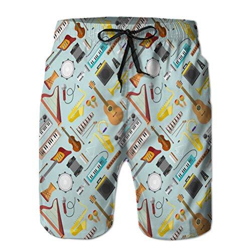 Hombres Core Slim Fit Bañadores ajustables Bañadores de playa Pantalones cortos de...