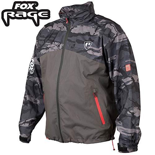 Fox Rage 10k Ripstop Jacke - Regenjacke, Größe:L