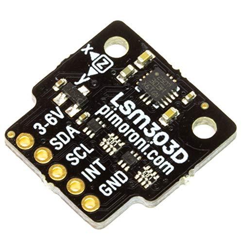 Pimoroni LSM303D 6DoF 3軸加速度センサー ブレークアウト - 6DoF Motion Sensor Breakout