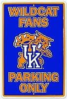 ケンタッキー大学山猫ファン専用駐車場NCAAティンサイン