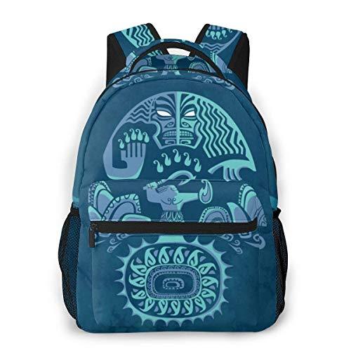 IUBBKI Moana Casual Backpack Cute Cartoon School Student Bookbag Backpack for Mens and Women Travel Bag Rucksack Kid Child Girl Outdoor Knapsack High Capacity Backpacks