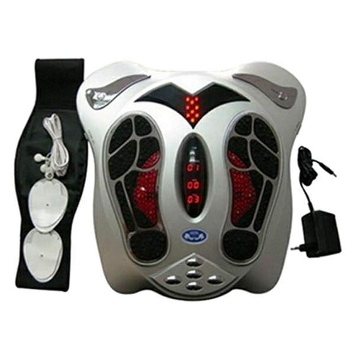 会話型肘チャーター電気の フットマッサージャー健康理学療法は血液循環を改善し、痛みや痛みを和らげるのに役立ちます 人間工学的デザイン, Silver