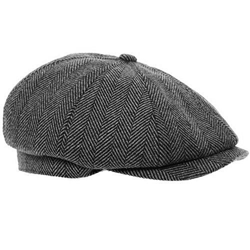 Wrapeezy - Sombrero de espiga para hombre
