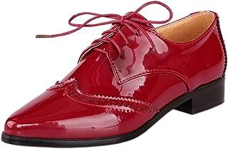 Melady Women Fashion Oxford Shoes Flat