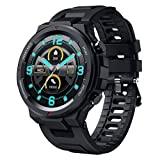 SANAG Smart Watch for Android and iOS Phones, Tough Body, IP67 Waterproof Fitness Tracker with Message Reminder, HR Blood Pressure Sleep Monitor, Steps Counter, 1.28' Touch Screen Smartwatch for Men