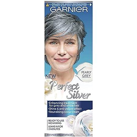 Crema neutralizadora de cabello gris Garnier Perfect Silver