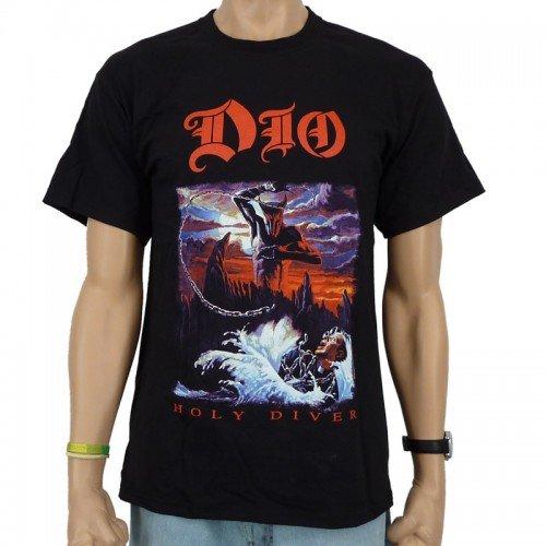 Dio - Holy Diver Band T-shirt, zwart