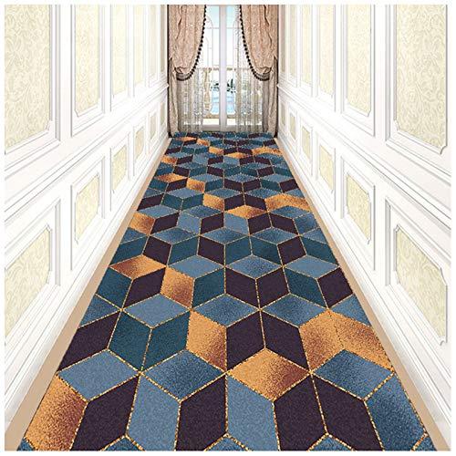 Moderner Teppichläufer für Flur, Küche, Eingang, 50 x 300 cm