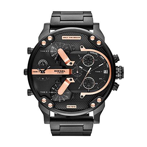 Diesel Reloj Analógico para Hombre de Cuarzo con Correa en Acero Inoxidable DZ7312