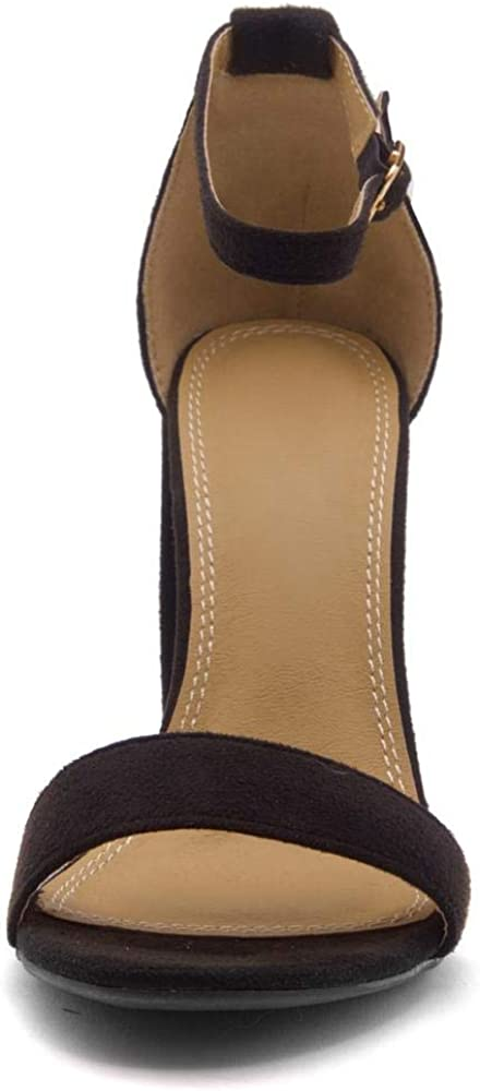 Buy Herstyle Rosemmina Womens Open Toe Ankle Strap Chunky
