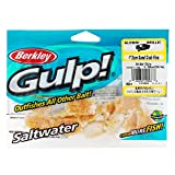 Berkley Gulp! Sand Crab Flea, Amber Glow, 1in