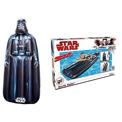 Lively Moments Star Wars Colchón de Aire/Colchón Flotador / Tabla de Surf / Surfrider Darth Vader Aprox. 173X 77X 18CM