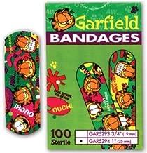 BANDAGE ADH GARFIELD 3/4X3 100/BX  ASO CAREBAND™ DECORATED BANDAGES