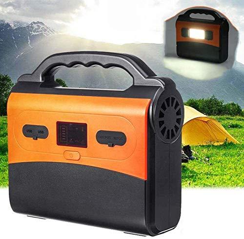 LILIS Generador Portátil Generador Inverter Central eléctrica cargada Solar, batería de Litio...