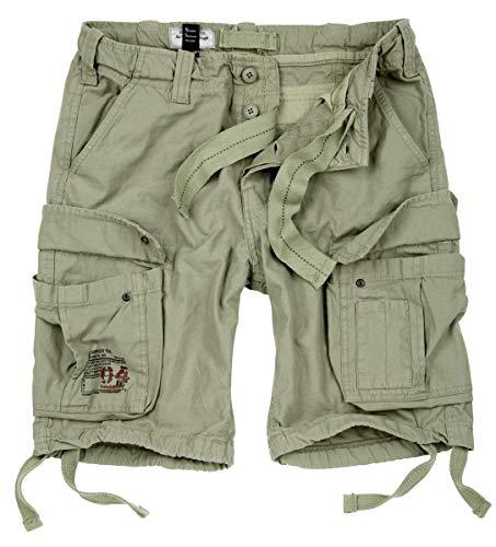Surplus Herren Airborne Vintage Shorts (XL, Light Olive)
