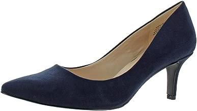 Nine West Womens 7 Elise Faux Suede Dress Heels